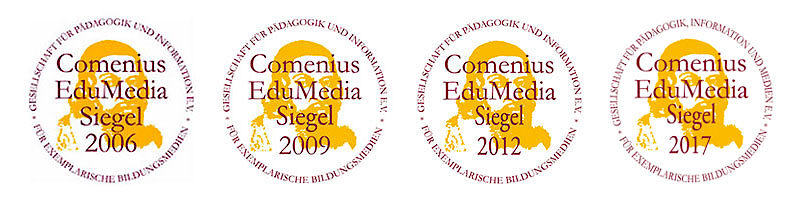 Comenius EduMedia Siegel 2006-2017